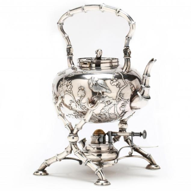 chinese-export-silver-tea-kettle-on-stand