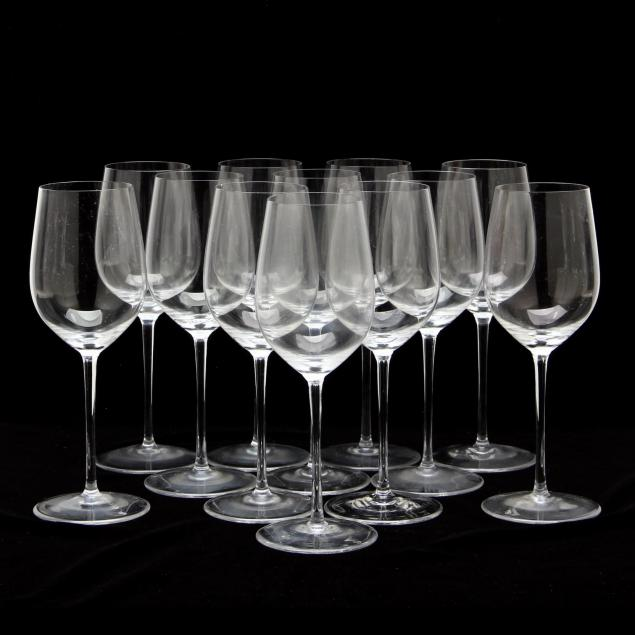 set-of-twelve-riedel-veritas-chardonnay-wine-glasses