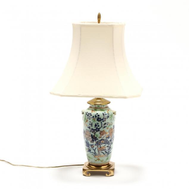 a-chinese-celadon-ground-famille-rose-table-lamp