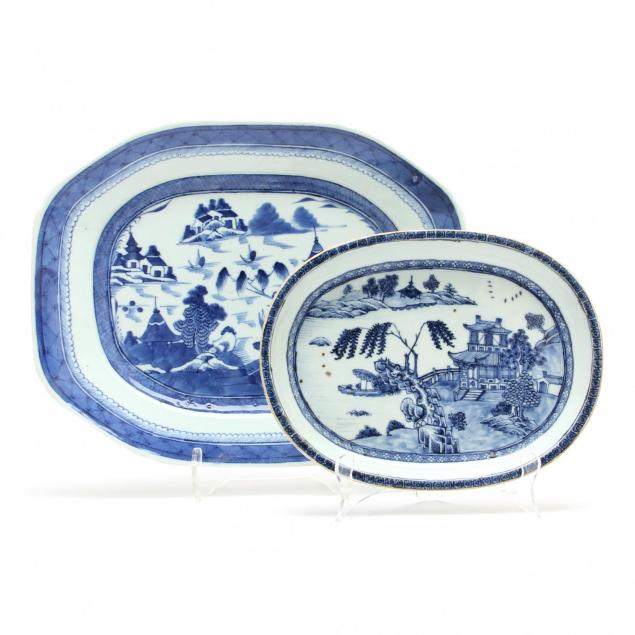 two-canton-blue-and-white-platters