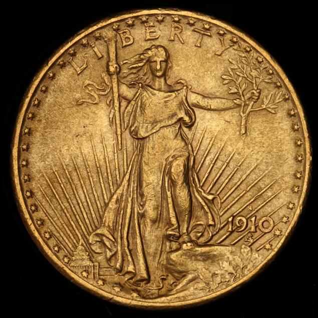 1910-s-20-gold-st-gaudens-double-eagle