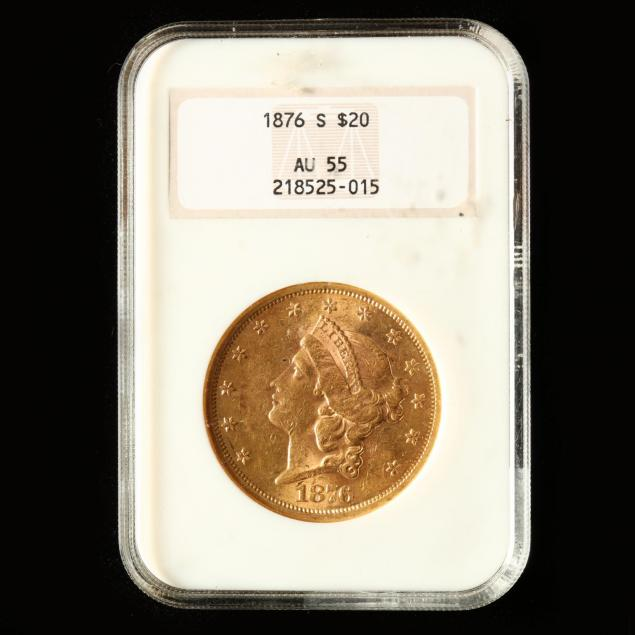 1876-s-20-gold-liberty-head-double-eagle