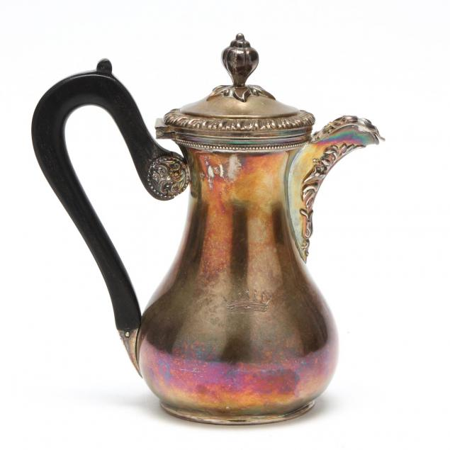 a-french-1st-standard-silver-hot-milk-jug