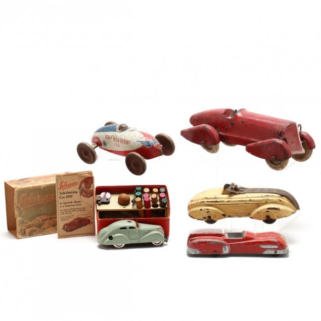 race-car-grouping-of-five