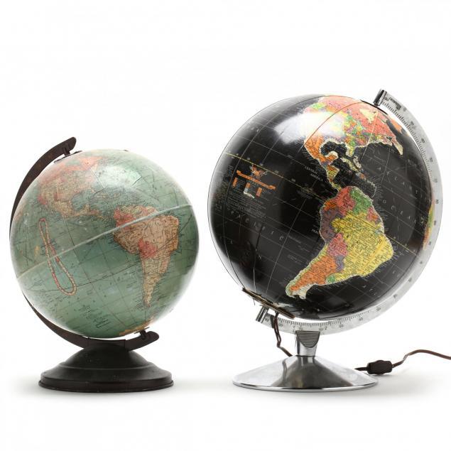 two-replogle-globes