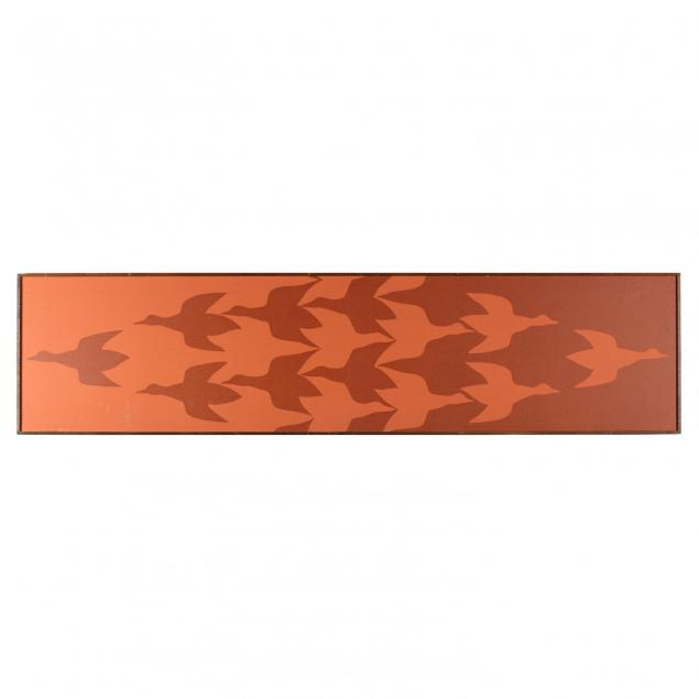 framed-silkscreen-in-the-style-of-escher-tom-tru-corp