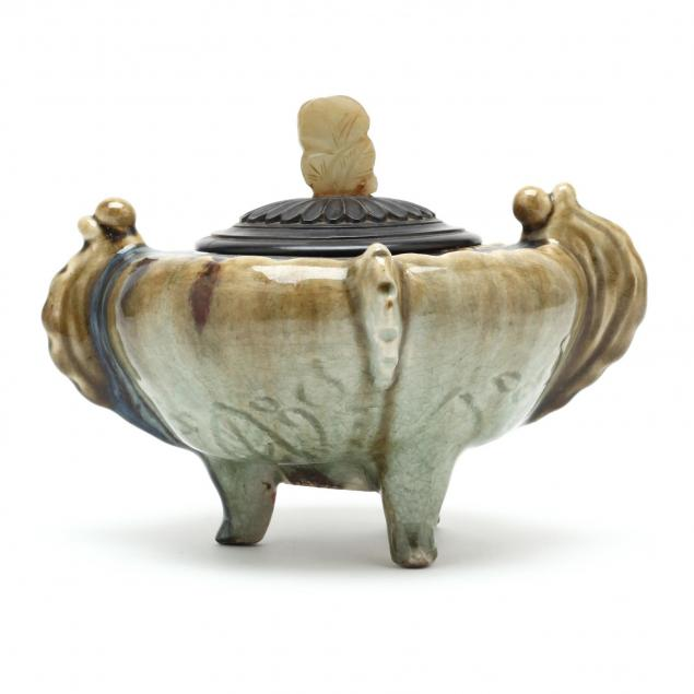 a-chinese-celadon-flambe-glazed-lidded-vessel