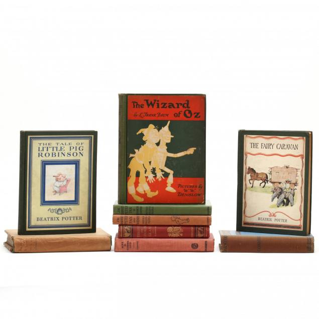 group-of-children-s-classic-books