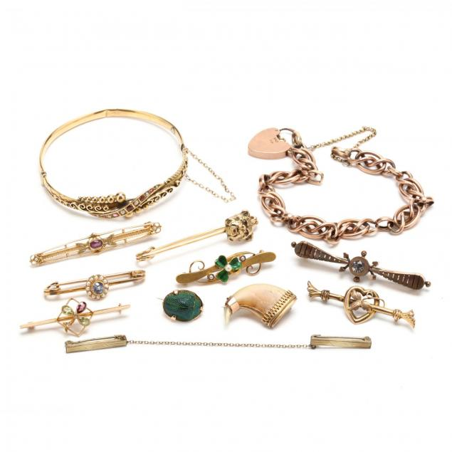 a-collection-of-vintage-jewelry