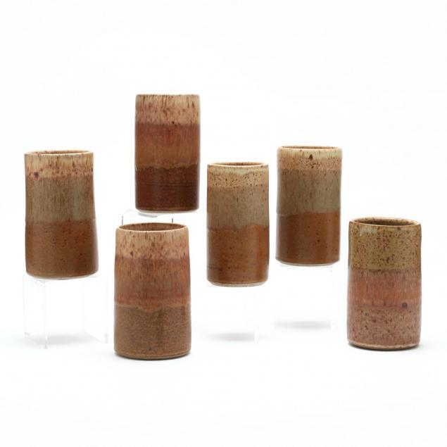 six-pottery-tumblers-cedar-creek-gallery-pottery