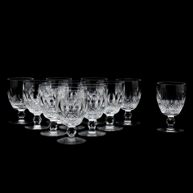 waterford-set-of-eleven-colleen-short-water-goblets