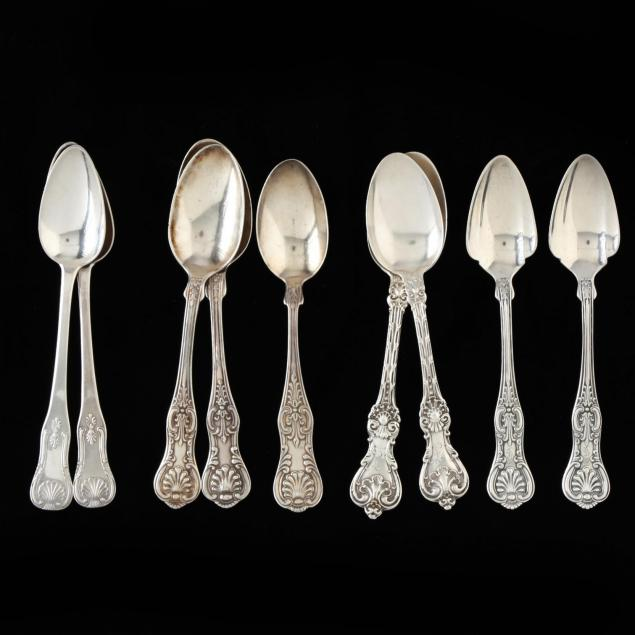 nine-kings-pattern-style-sterling-coin-silver-spoons