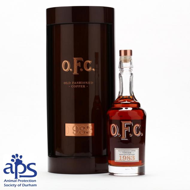 o-f-c-distillery-whiskey-charity-bottle-benefiting-animal-protection-society-aps-of-durham-nc