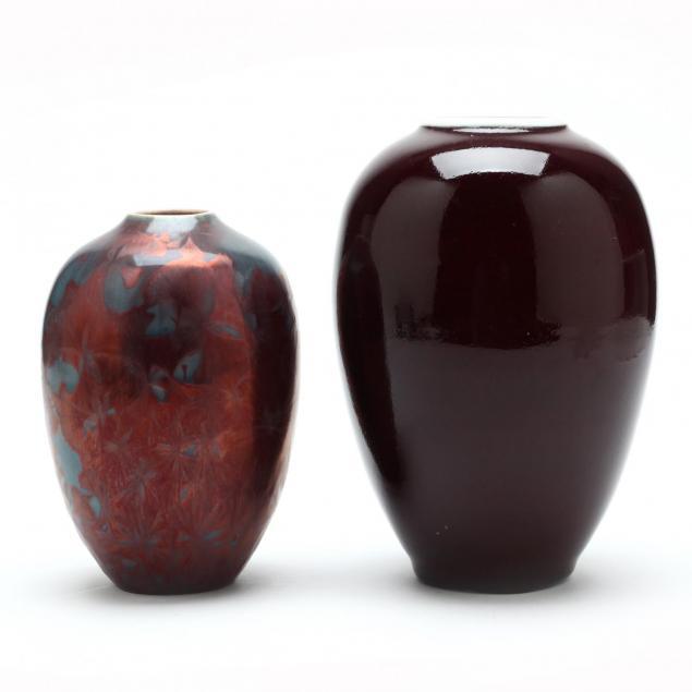 two-art-pottery-vases-sid-oakley-vases-nc-1932-2004