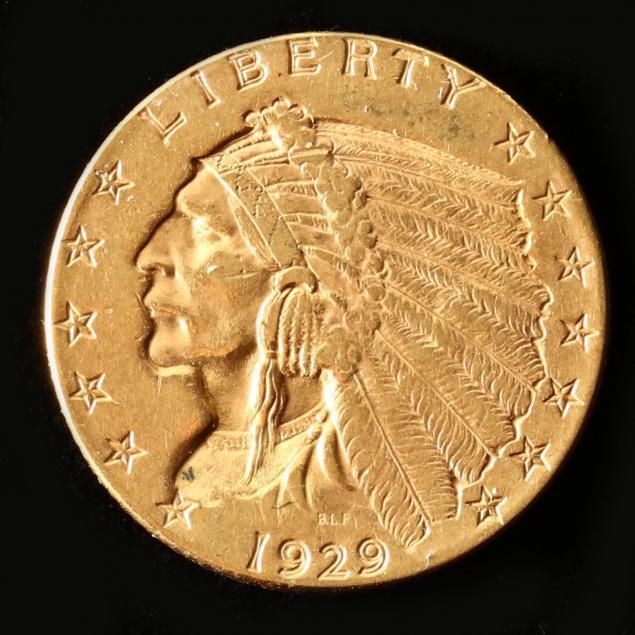 1929-2-50-gold-indian-head-quarter-eagle