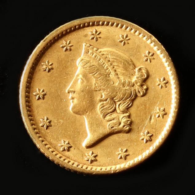 1851-1-gold-type-i-liberty-head