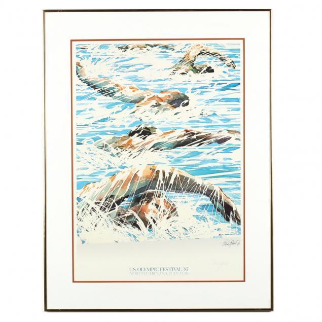 maud-gatewood-nc-1934-2004-signed-u-s-olympic-festival-poster-1987