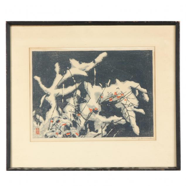 winter-woodblock-print-by-masaharu-seiji-aoyama-japanese-1893-1969
