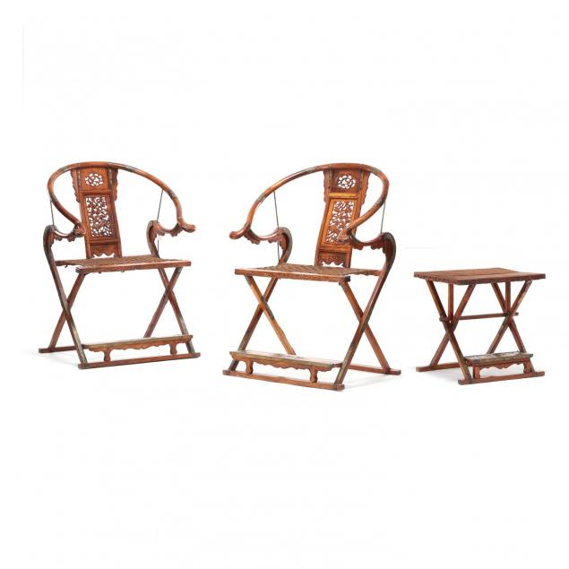 a-set-of-chinese-huanghuali-folding-horseshoe-chairs-and-table