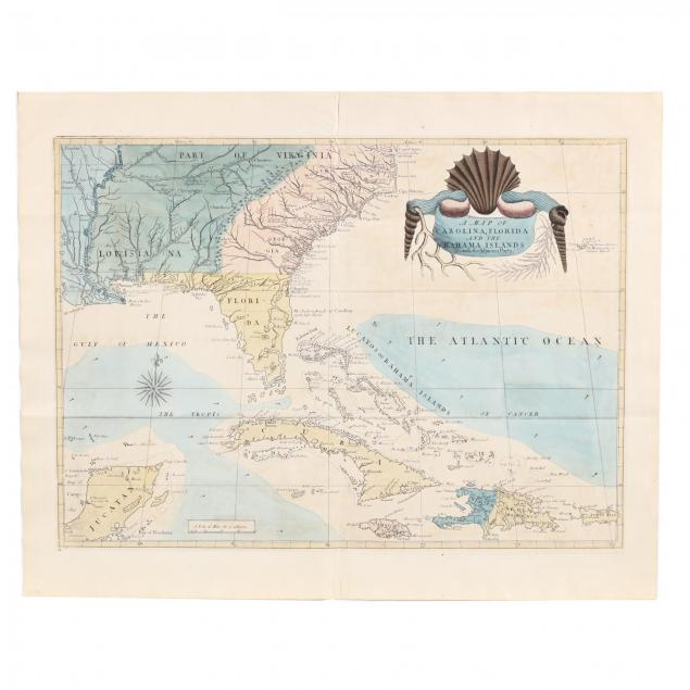 mark-catesby-s-map-of-southeastern-north-america-and-the-caribbean