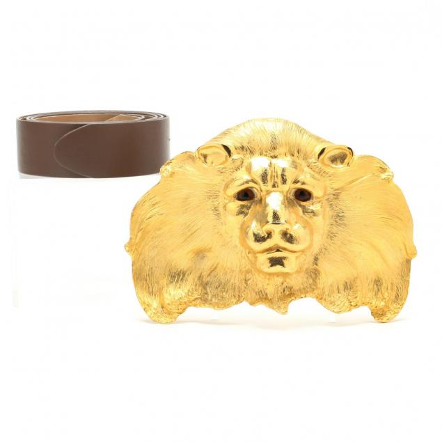 large-lion-head-belt-buckle-christopher-ross