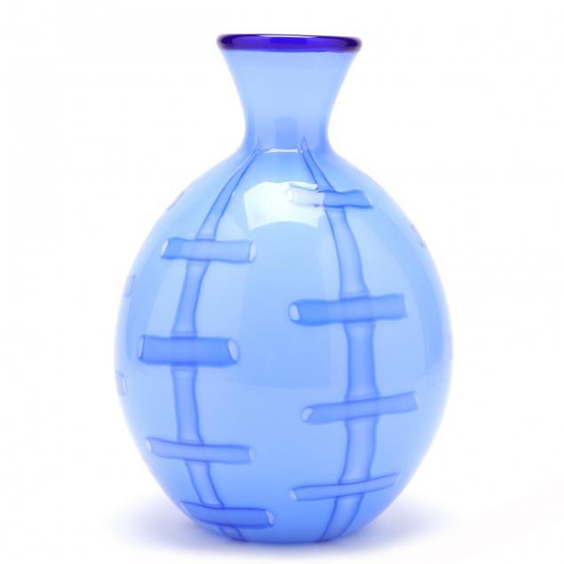 salviati-blue-art-glass-vase