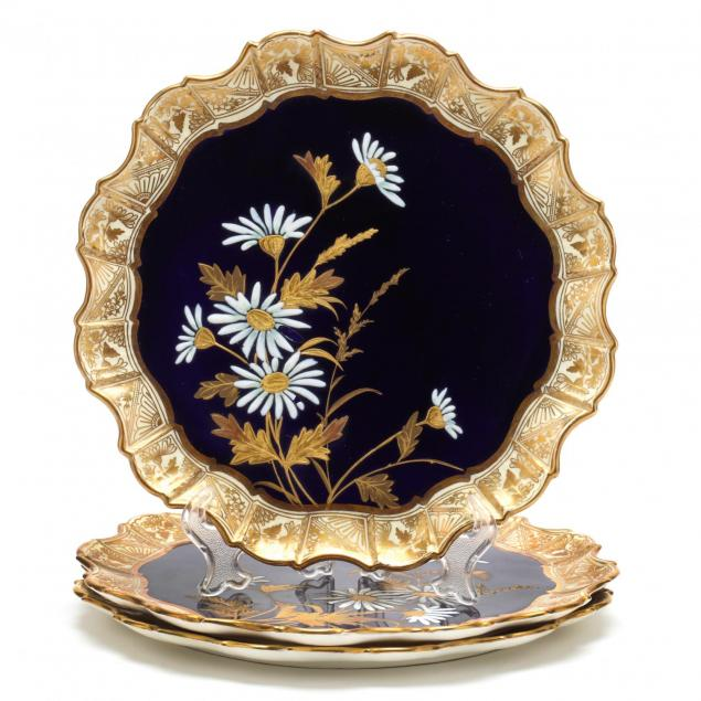 three-aynsley-cabinet-plates