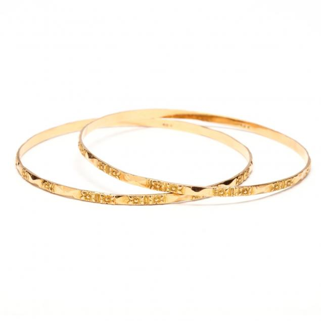 pair-of-vintage-18kt-bracelets
