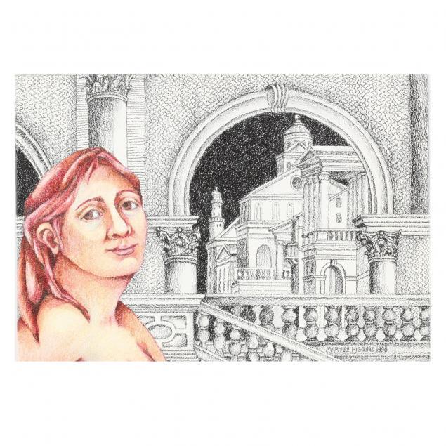 marylou-higgins-nc-1926-2012-i-architectural-fantasy-i-i