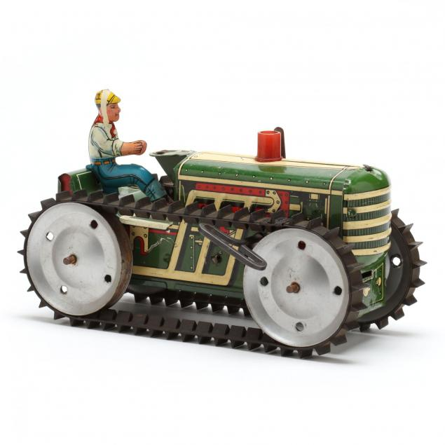 marx-tin-litho-caterpillar-tractor
