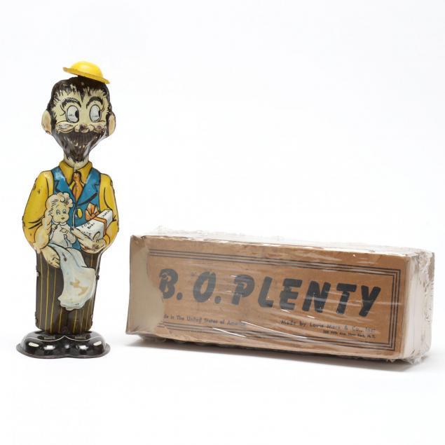 marx-b-o-plenty-tin-litho-wind-up-toy
