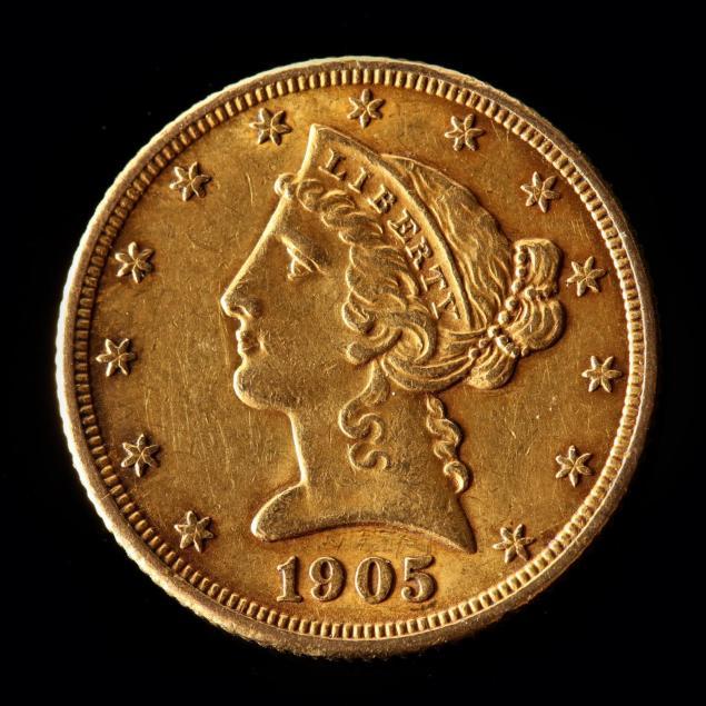 1905-5-gold-liberty-head-half-eagle