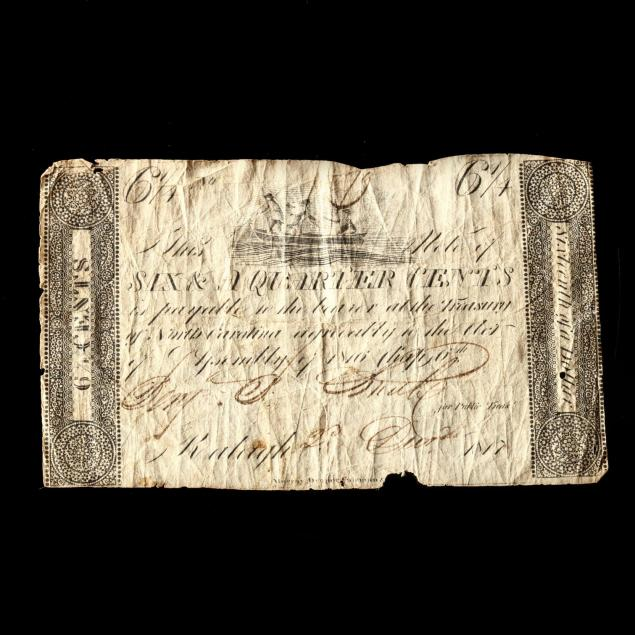 extremely-rare-raleigh-nc-sixteenth-of-a-dollar-6-1-4-note
