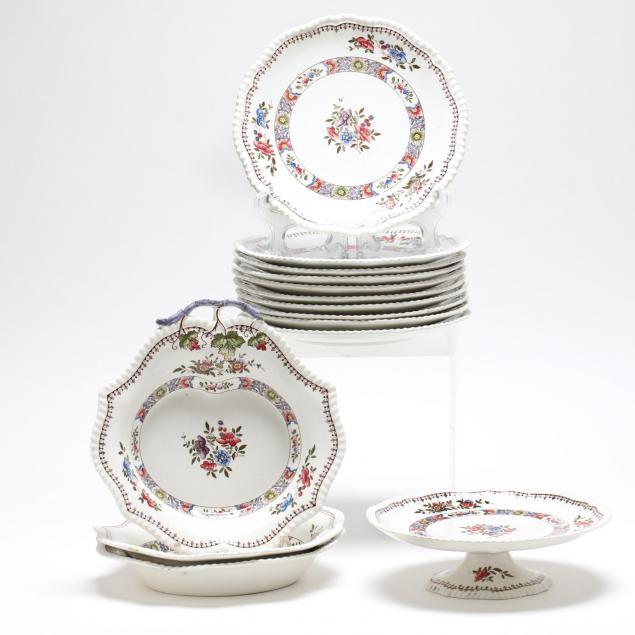 partial-set-of-copeland-spode-nigel-dinnerware-14-pieces