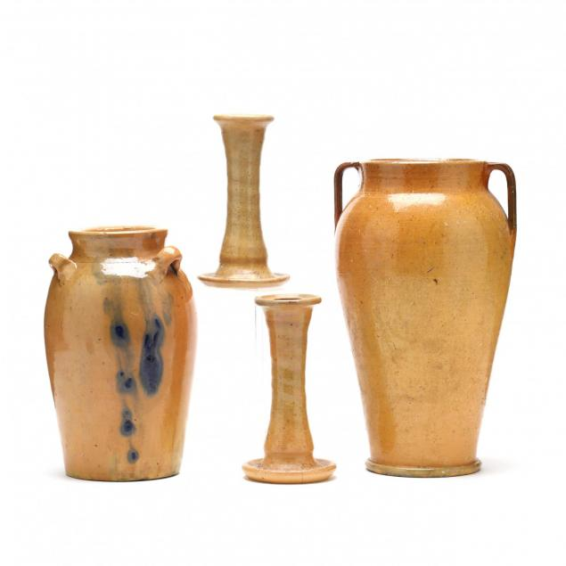 a-grouping-of-early-auman-pottery