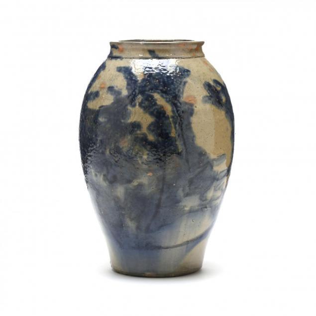 a-charlie-and-ray-auman-vase-c-b-masten-glaze