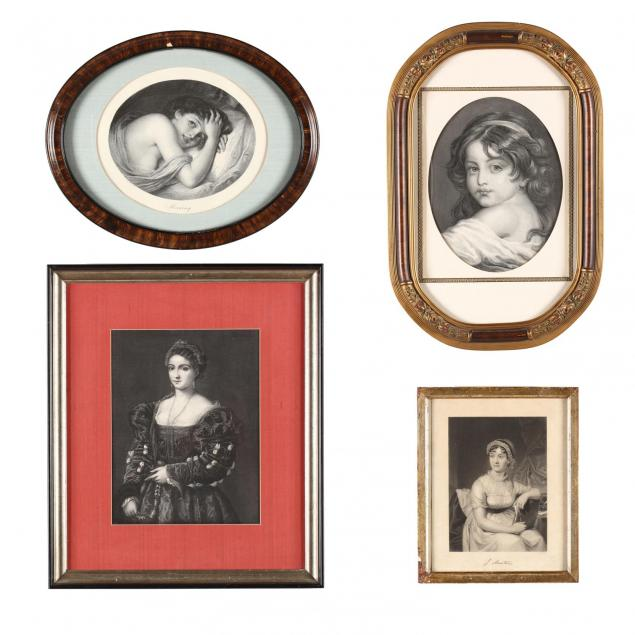 four-framed-antique-english-engravings