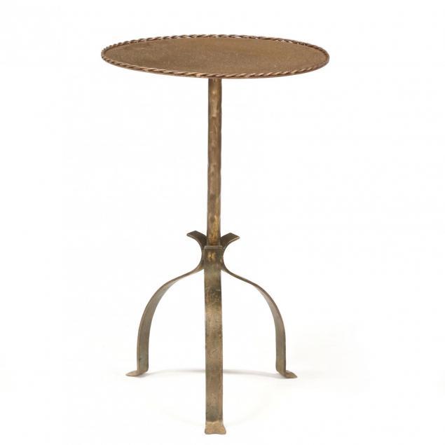 spanish-style-gilt-iron-side-table