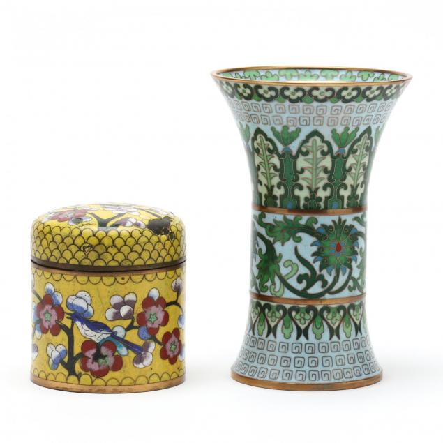 two-chinese-cloisonne-vessels