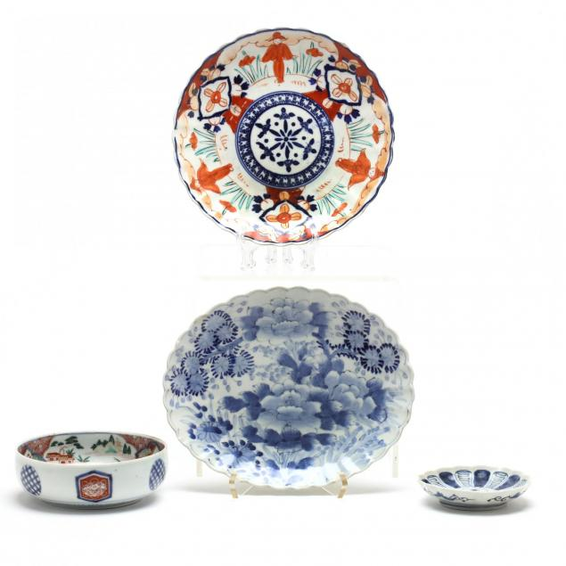 four-pieces-of-japanese-porcelain