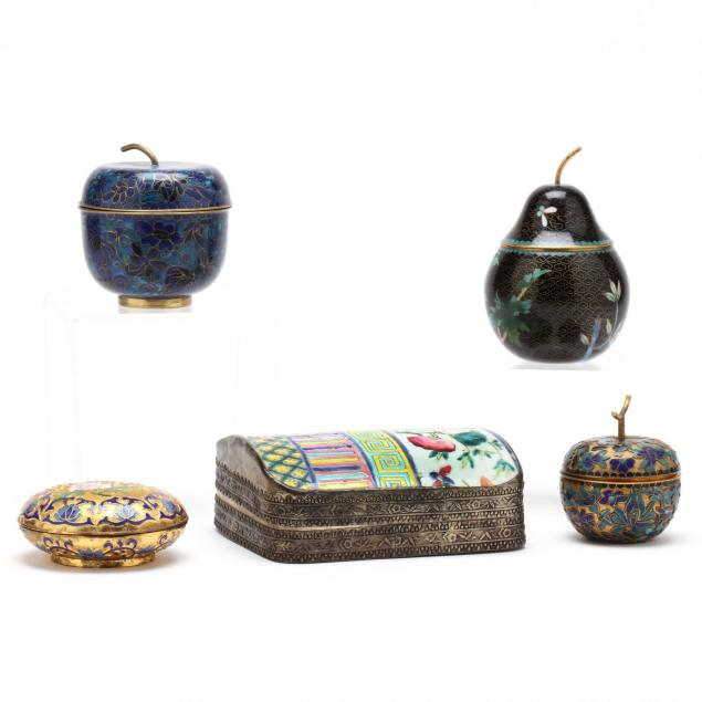 group-of-decorative-asian-boxes