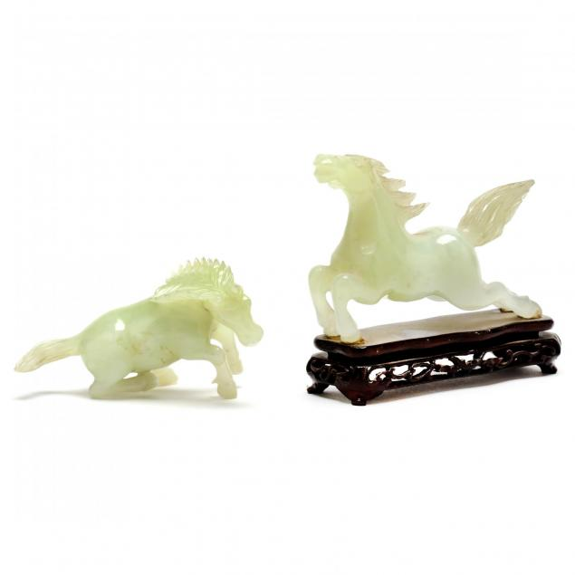 two-chinese-carved-nephrite-jade-horses