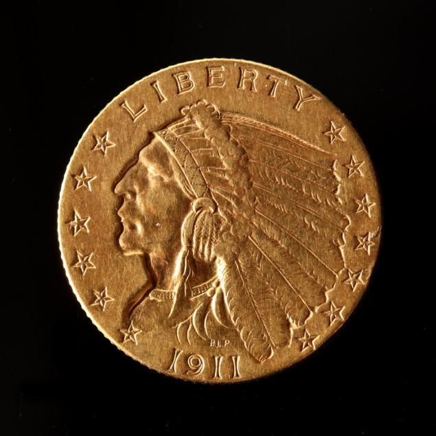 1911-2-50-gold-indian-head-quarter-eagle