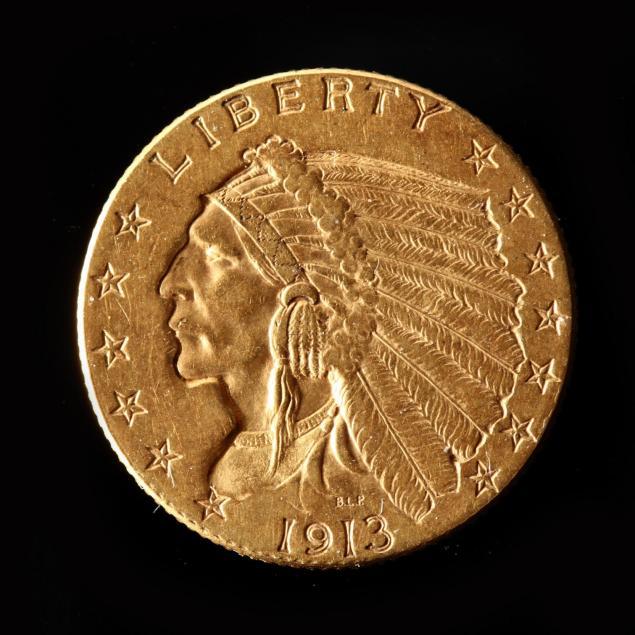 1913-2-50-gold-indian-head-quarter-eagle