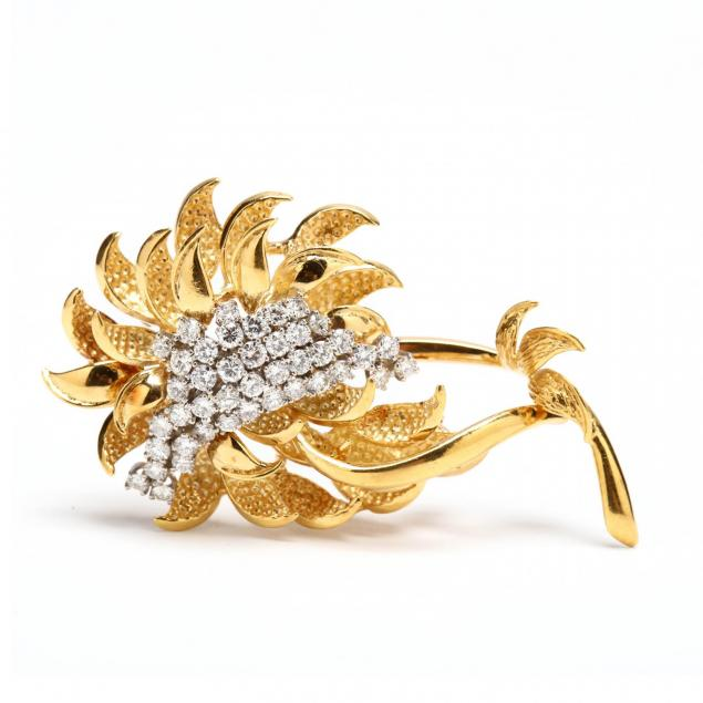 18kt-diamond-brooch