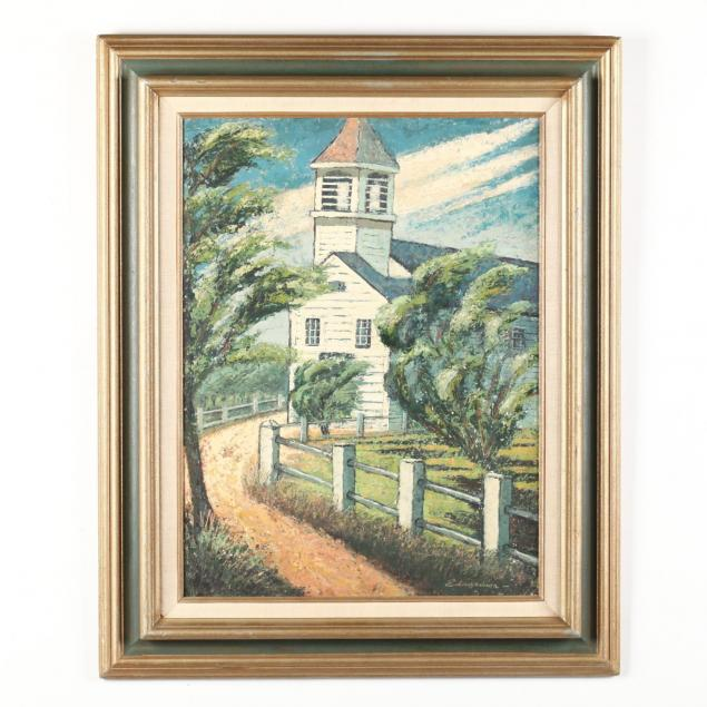 larry-edwardson-am-1904-1995-i-church-truro-cape-cod-i