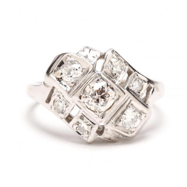 vintage-14kt-white-gold-diamond-ring