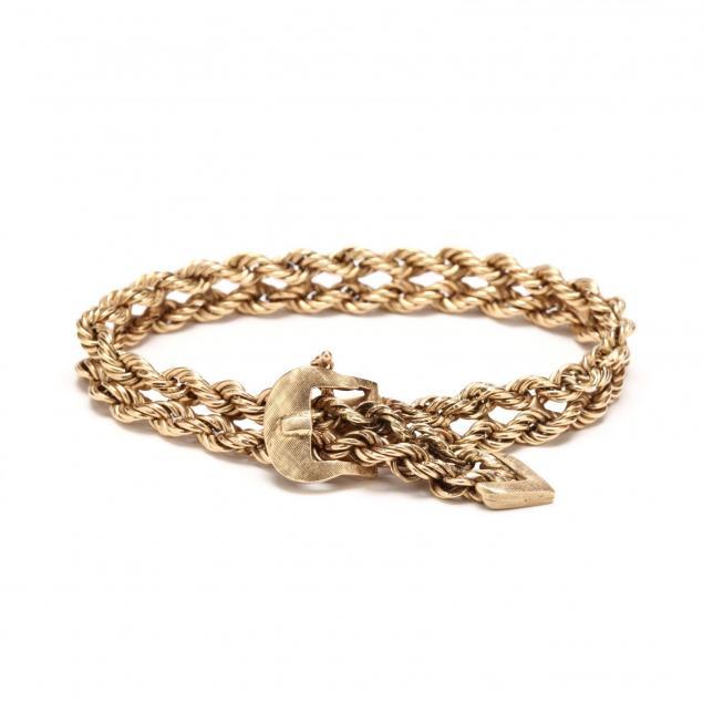 vintage-14kt-gold-bracelet