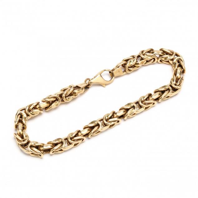 18kt-gold-chain-bracelet-unoaerre