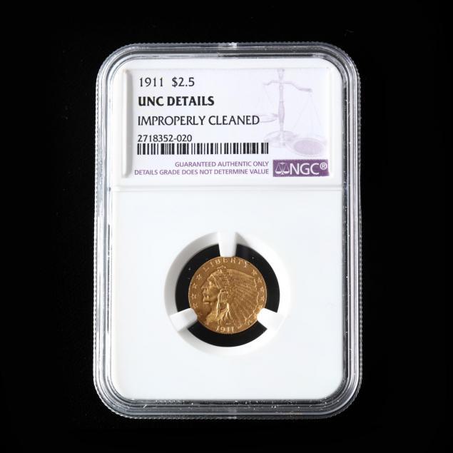 1911-2-50-gold-indian-head-quarter-eagle-ngc-unc-details